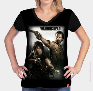 Camiseta A Dupla - The Walking Dead