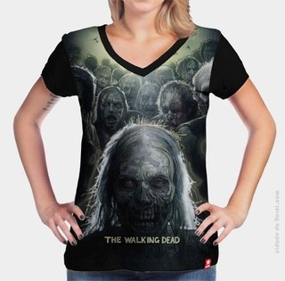 Camiseta Zombie - The Walking Dead - comprar online