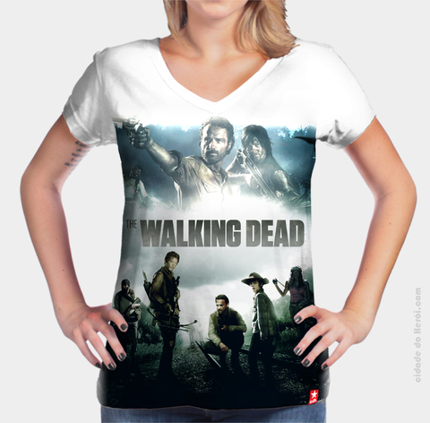Camiseta Daryl Dixon & Rick Grimes - The Walking Dead