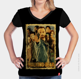 Camiseta A Família - The Walking Dead na internet