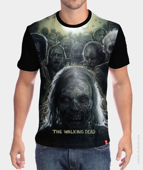 Camiseta Zombie - The Walking Dead