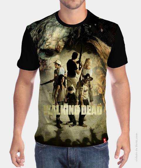 Camiseta Sobreviventes - THE WALKING DEAD