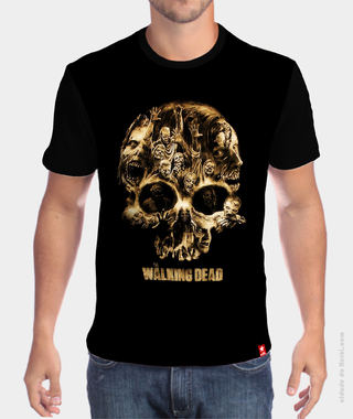 Camiseta Caveira - The Walking Dead na internet
