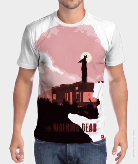 Camiseta The Walkers - The Walking Dead
