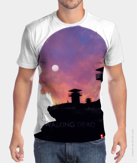 Camiseta Prisão - The Walking Dead