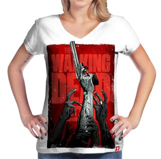 Camiseta My Gun - The Walking Dead na internet