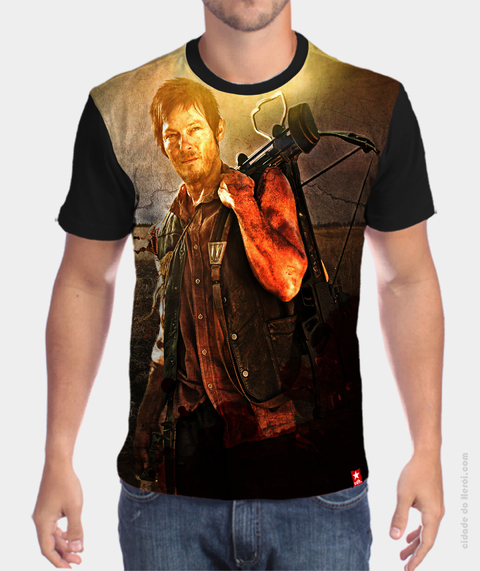 Camiseta Daryl Dixon - The Walking Dead
