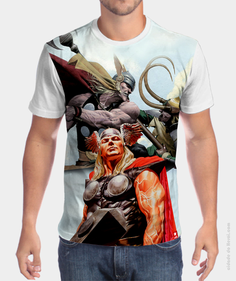 Camiseta Deus do Trovão - Thor