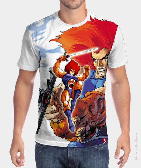 Camiseta Lion - ThunderCats