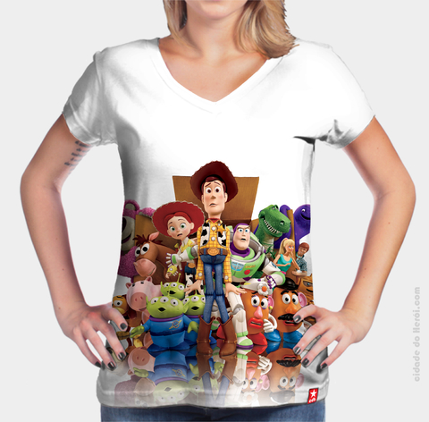 Camiseta Personagens - Toy Story
