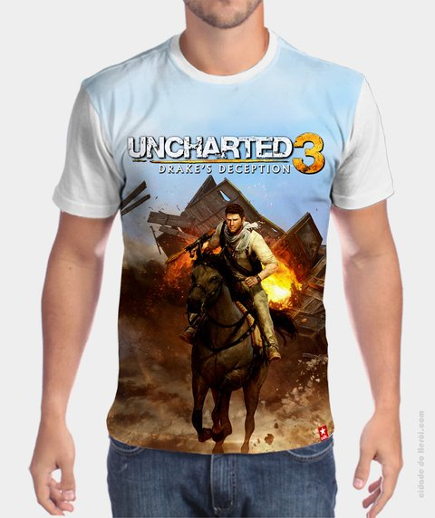 Camiseta Uncharted