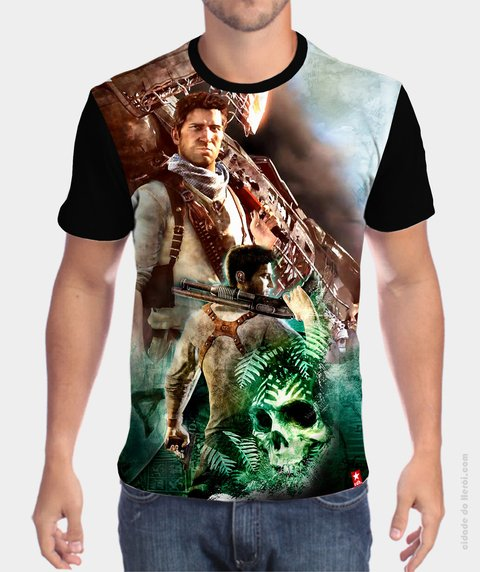 Camiseta Nathan Drake - Uncharted