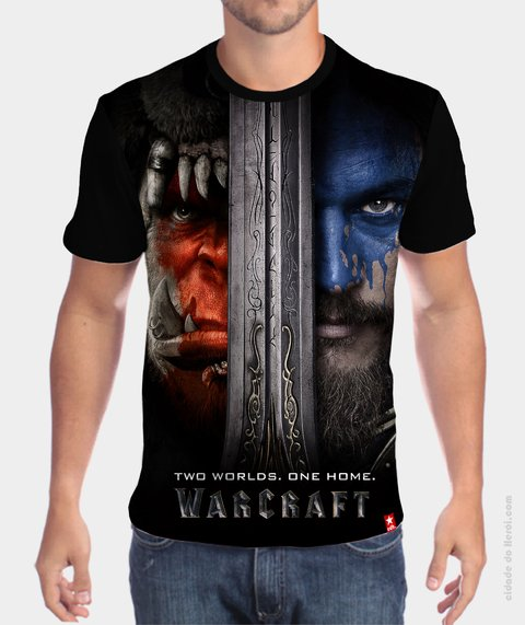 Camiseta World of Warcraft - O Filme - comprar online