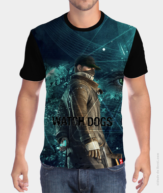 Camiseta  Aiden Pearce - Watch Dogs