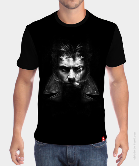 Camiseta Logan - X Men