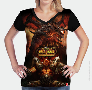 Camiseta Cataclysm - World of Warcraft