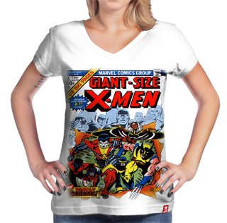 Camiseta X men Retro na internet