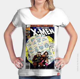 Camiseta Hq - X Men na internet