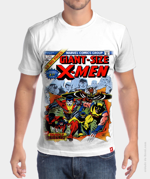 Camiseta X men Retro