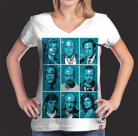 Camisetas Breaking bad All