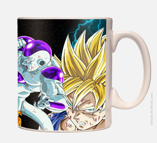 Caneca Dragon Ball Goku x Freeza - comprar online