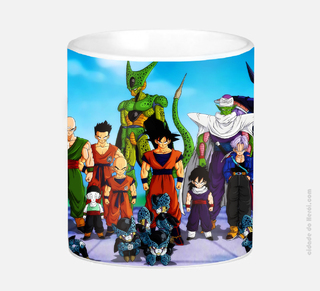 Caneca Dragon Ball Saga