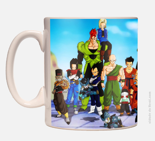 Caneca Dragon Ball Saga na internet