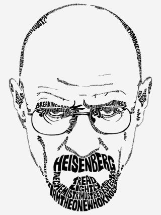 Camiseta Breaking Bad Heisenberg na internet