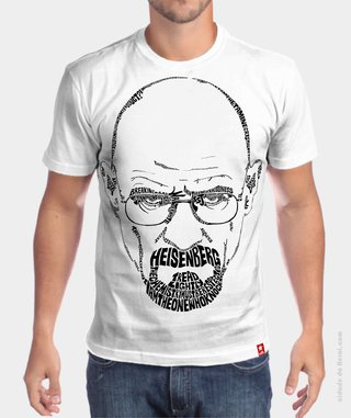 Camiseta Breaking Bad Heisenberg - comprar online