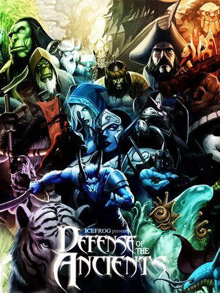 Camiseta Defense of the Ancients - Dota - comprar online
