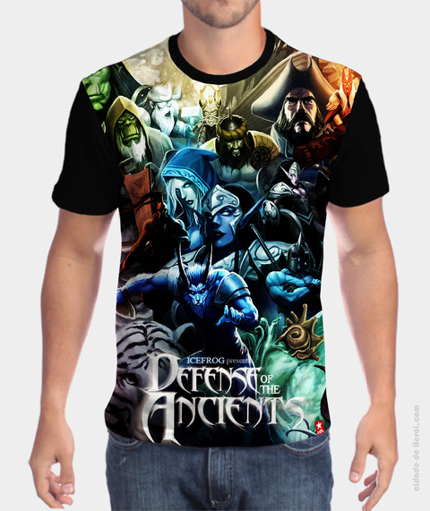 Camiseta Defense of the Ancients - Dota