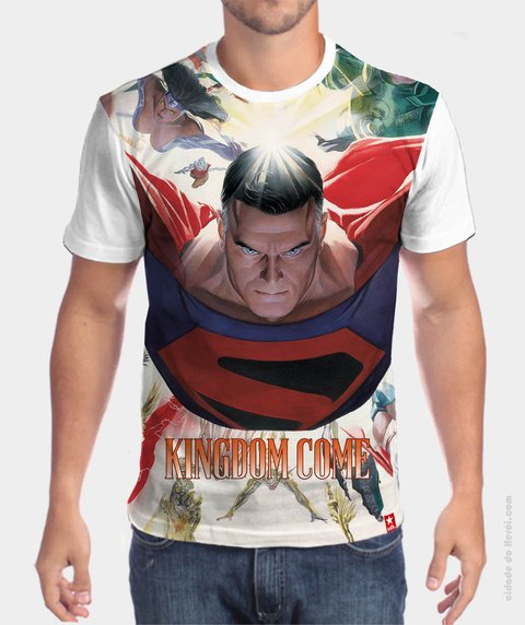 Camiseta Superman e o Reino do Amanhã