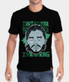 Camiseta King - Jon Snow