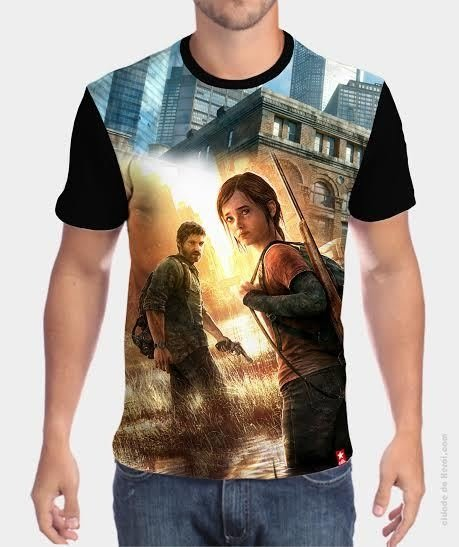 Camiseta Ellie e Joel - The Last of Us
