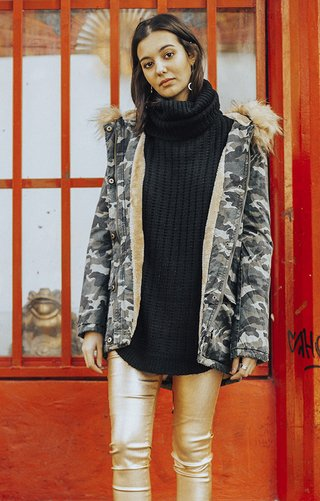 j547 campera camuflada BIRD