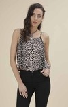 G377 Top animal print AHME - comprar online