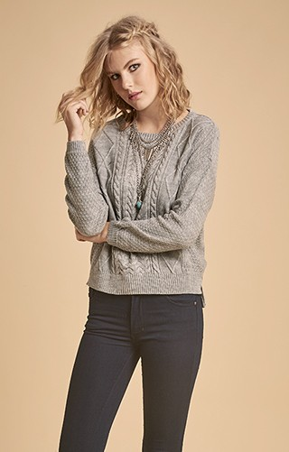 H541 / SWEATER CUELLO REDONDO