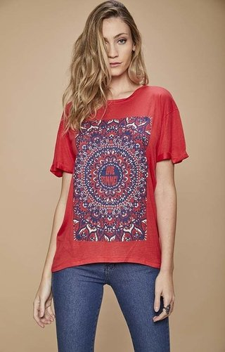 B458 Remera estampa loverimmel	Pamela