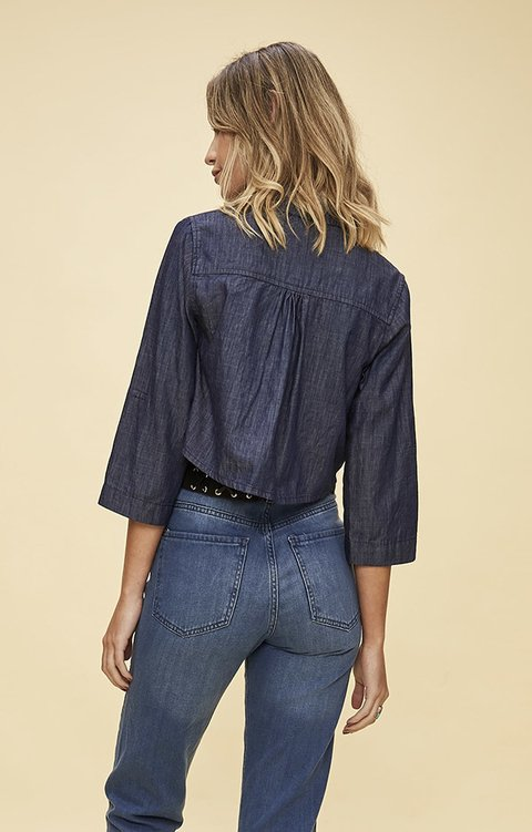 j398 Camisada Denim en internet