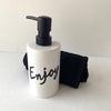 Dispenser Blanco Enjoy, Negro. - comprar online