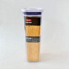 Tarro hermético cuadrado. apilable ideal fideos Pop marca OXO de 2L. OX11 ( 11233800)