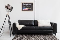 Cuadro Subway Sign New York - comprar online