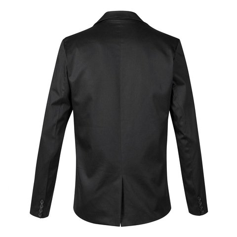 Traje Negro satinado slim fit + Zapatos Charol en internet