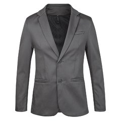 Traje gris satinado slim fit + Zapatos Charol + Camisa slim fit en internet