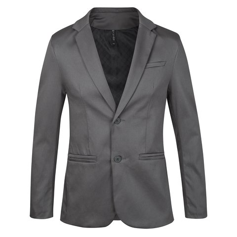 Traje Gris satinado slim fit Mike Milion en internet