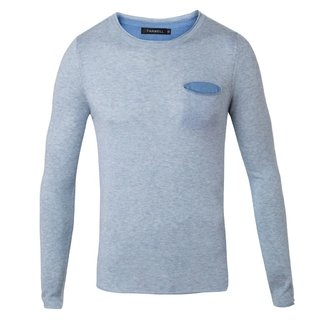 Sweater Rick celeste Slim fit - comprar online
