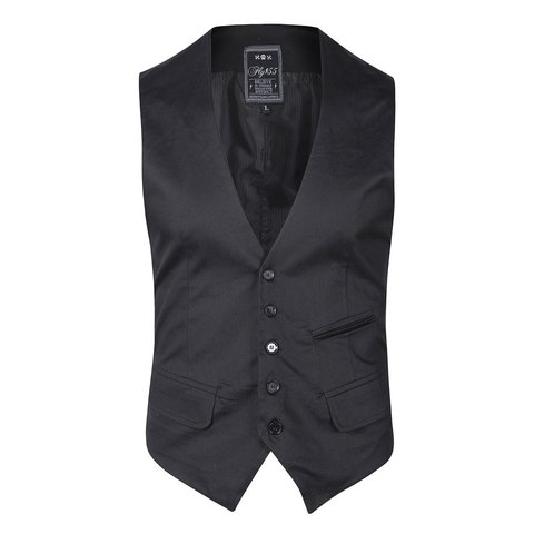 Traje Negro satinado slim fit + Zapatos Charol - QUALITY IMPORT USA