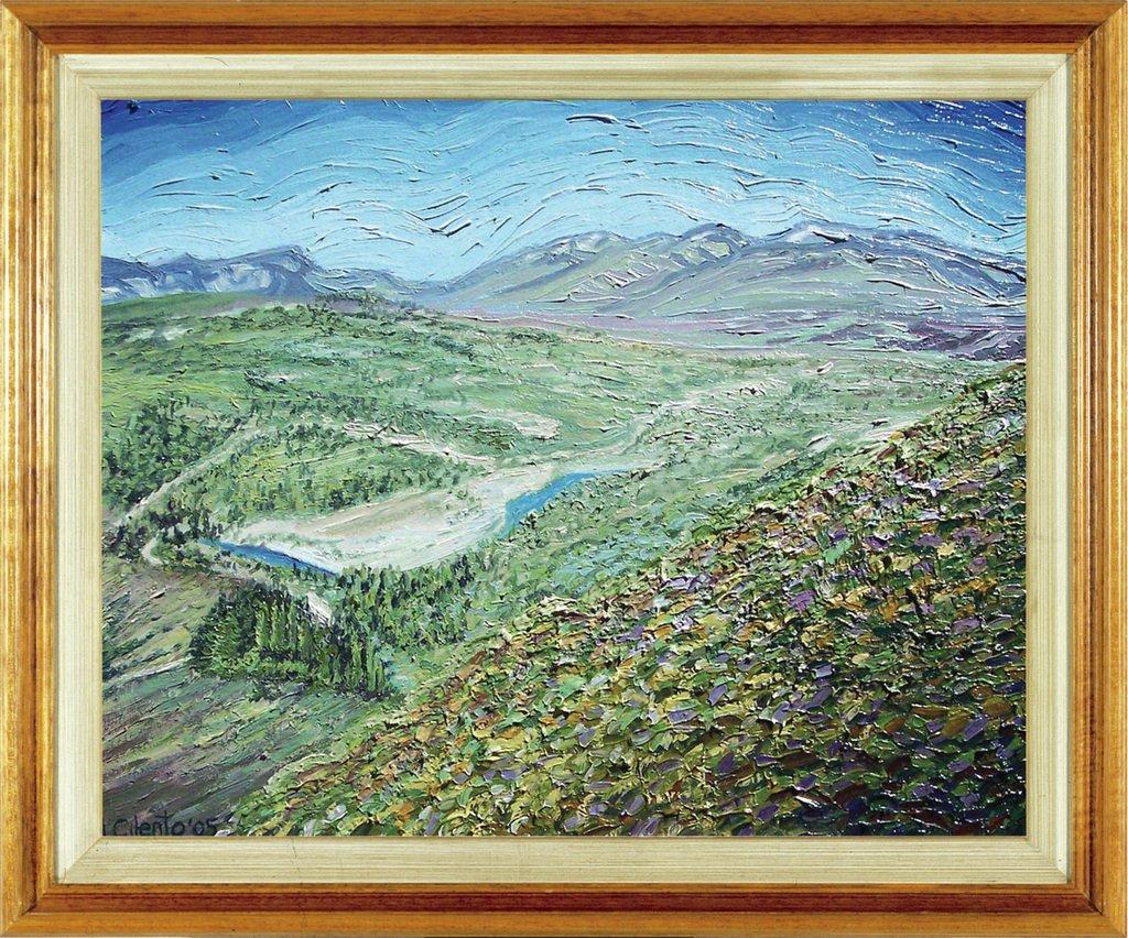 Valle de El Bolson, Rio Negro - 40 x 50 cm
