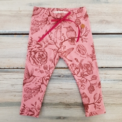 LEGGINGS BIRDS ROSA VIEJO