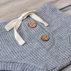 MINI SHORT PANAL GRIS TOPO en internet